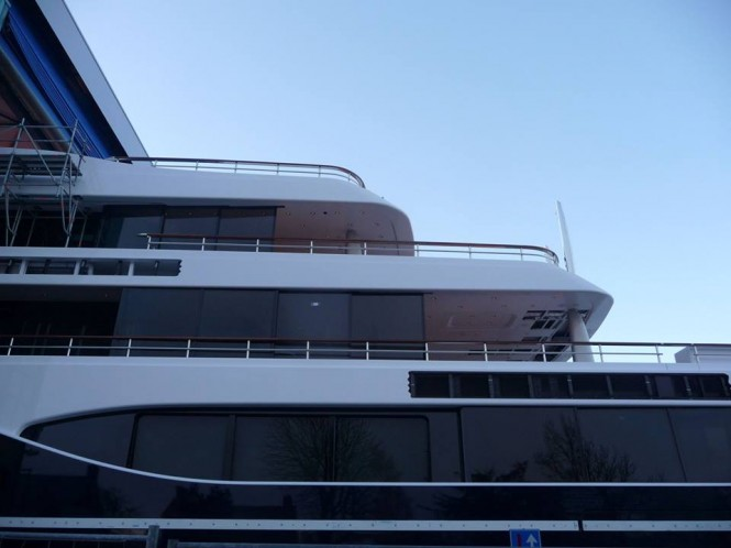 Hull 808 yacht by Feadship - Photo by Feadship Fan Club