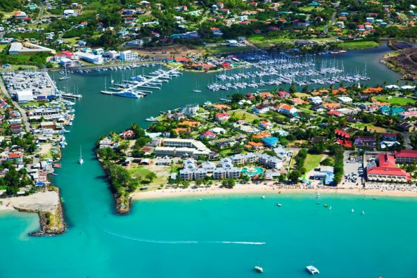 IGY's Rodney Bay Marina - a beautiful St. Lucia yacht rental destination