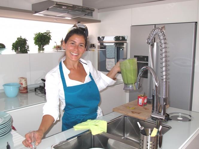 LIR yacht  - Chef Natalia