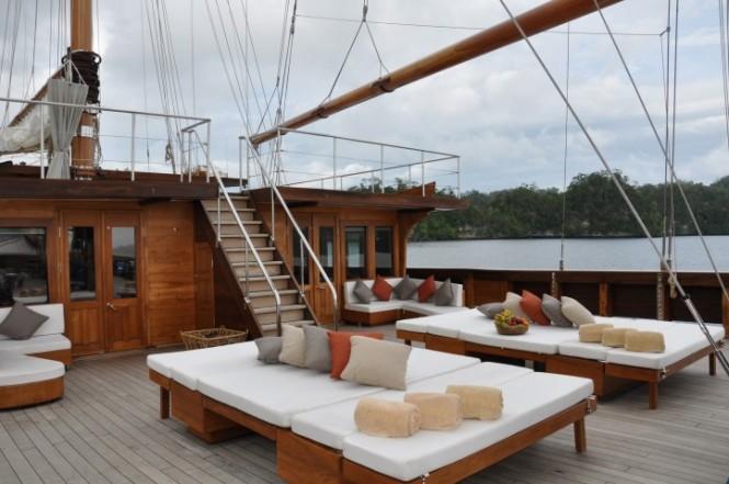 Lamima Yacht - Main Deck
