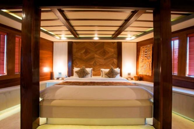 Lamima superyacht - Master Cabin