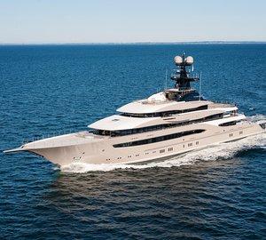 95m Lurssen motor yacht KISMET shortlisted for 2015 World Superyacht Awards