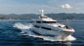 Luxury motor yacht Atomic by Sunrise Yachts