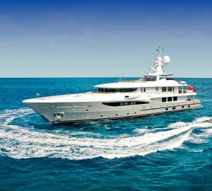 Burma Yacht Charter aboard 52m Motor Yacht BELLE AIMEE