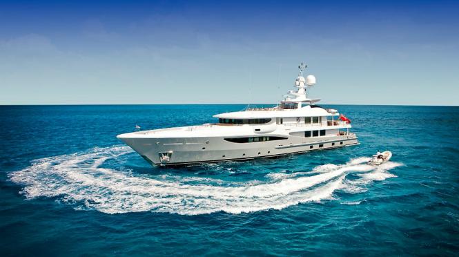 Luxury motor yacht BELLE AIMEE
