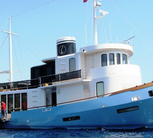Motor yacht LE LUTTEUR refitted by Cobra Yacht