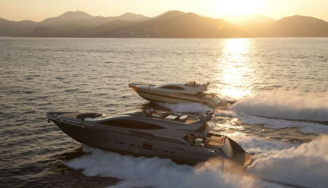 Luxury motor yachts built by Cerri