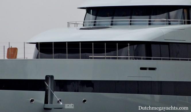 Luxury superyacht SAVANNAH