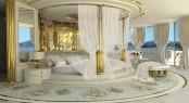 Luxury yacht LA BELLE - Master Cabin