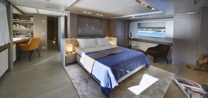 Luxury yacht SD126 - Cabin