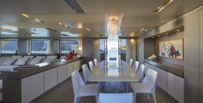 Luxury yacht SD126 - Dining