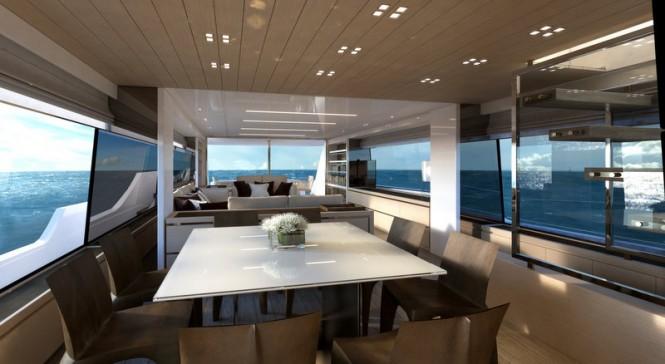 Luxury yacht SL86 by Sanlorenzo