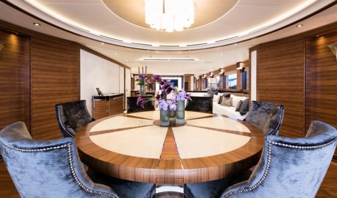 Luxury yacht Silver Wind - Dining - Photo Credits @ SuperyachtMedia