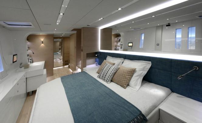 Luxury yacht WildBerry - Cabin