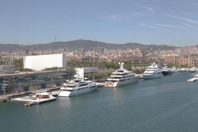 Marina Port Vell - a lovely Barcelona yacht holiday location