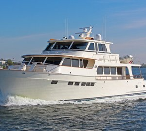 Marlow Explorer 80E motor yacht Hull #2 to be displayed at 2015 Miami International Boat Show