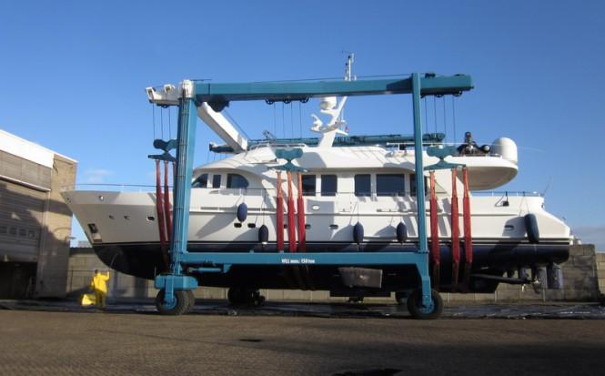 Moonen 84 motor yacht Impetuous (ex Phoenix)
