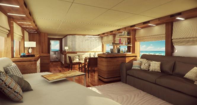 Motor yacht YOLO - Interior
