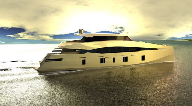 New 115ft super yacht 115 Sunreef Power concept by Sunreef Yachts