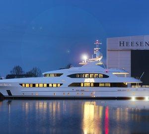 Launch of Heesen motor yacht ASYA (YN 16947)