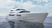 New 90m Nobiskrug Yacht Concept designed by Impossible Productions Ink LLC