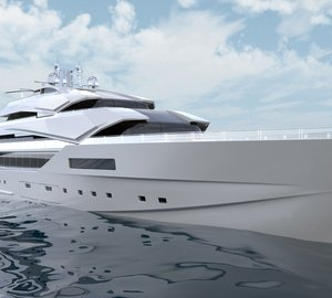 New 90m Mega Yacht Concept developed for Nobiskrug by Impossible Productions Ink LLC