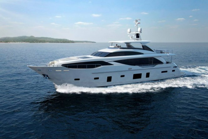 New M Class superyacht Princess 30M by Princess Yachts