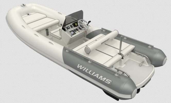 New Sportjet 520 superyacht tender by Williams Performance Tenders