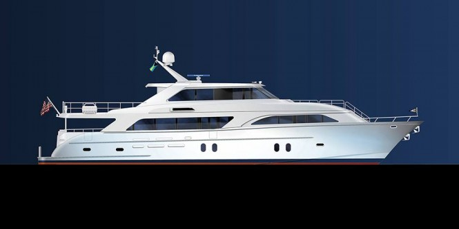 New super yacht Global 104 by Cheoy Lee