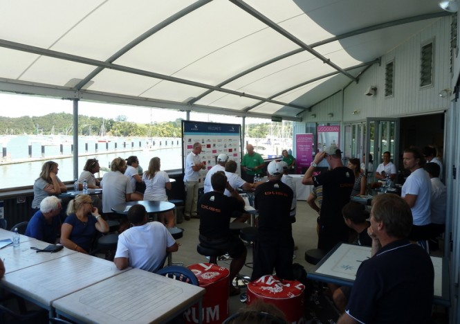 Preview Day - Skippers Briefing at Opua Cruising Club