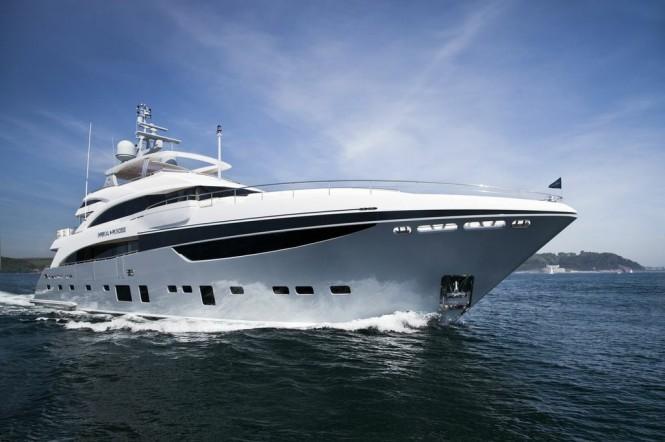 Princess 40M charter yacht IMPERIAL PRINCESS