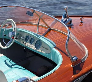 Vintage Riva Junior yacht tender to be auctioned at London Boat Show 2015
