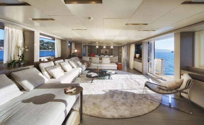 SD126 Yacht by Sanlorenzo - Interior