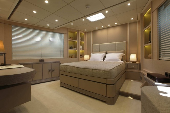 Sailing yacht In Love - Cabin