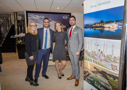 Sani Marina with Sunseeker Hellas at the CWM FX London Boat Show 2015