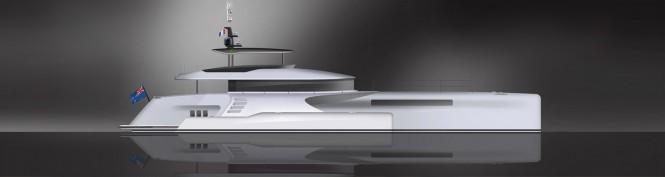 Shuttleworth 32M Yacht Concept