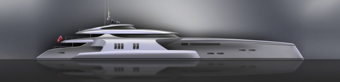 Shuttleworth 70M Yacht Concept