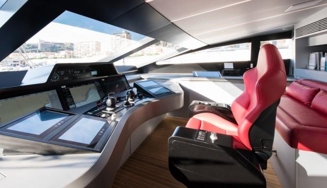 Silver Wind superyacht - Wheelhouse - Photo Credits @ SuperyachtMedia