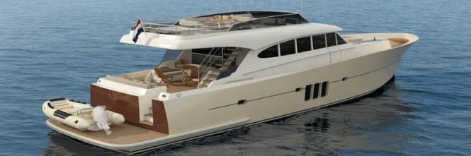 Sossego Comfort 22 Yacht - aft view