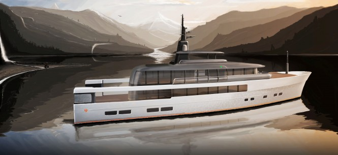 Super yacht CASA concept by Vripack
