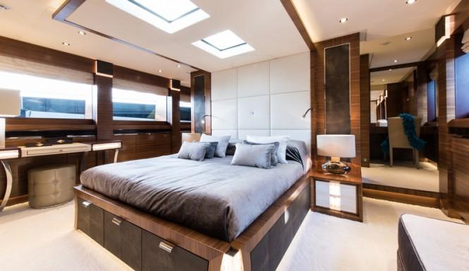 Super yacht Silver Wind - Master Cabin - Photo Credits @ SuperyachtMedia