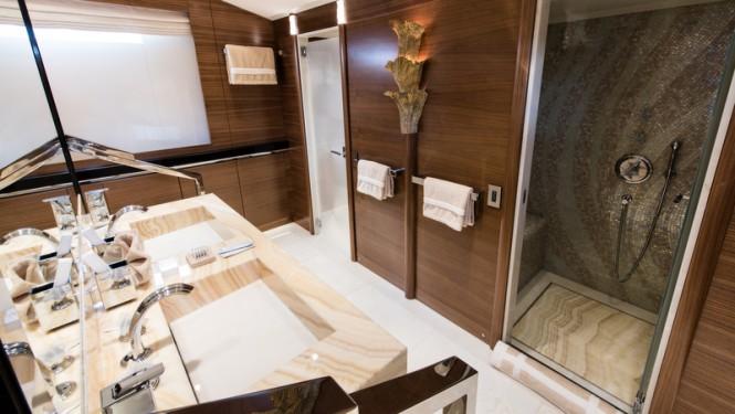 Superyacht Silver Wind - Master Bathroom - Photo Credits @ SuperyachtMedia