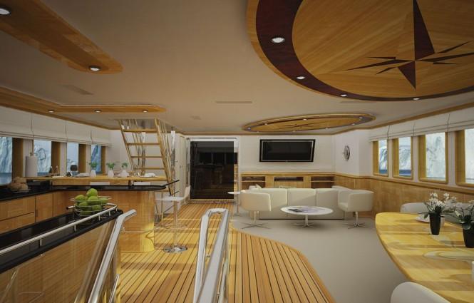 Svetlana Yacht - Saloon