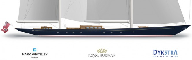The latest luxury yacht designed by Dykstra - 56m superyacht Aquarius - Profile