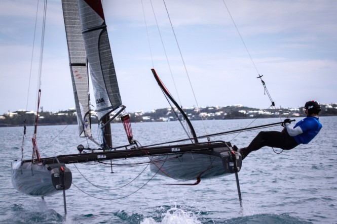 Training in Bermuda - Photo by Alex Palmer BAR