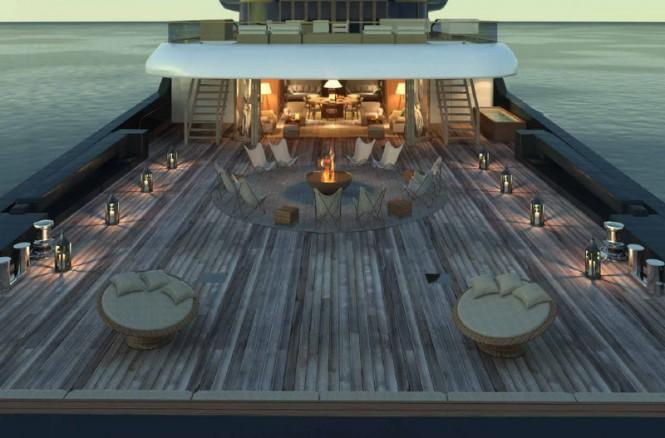 X-Ballet Yacht Concept - Exterior