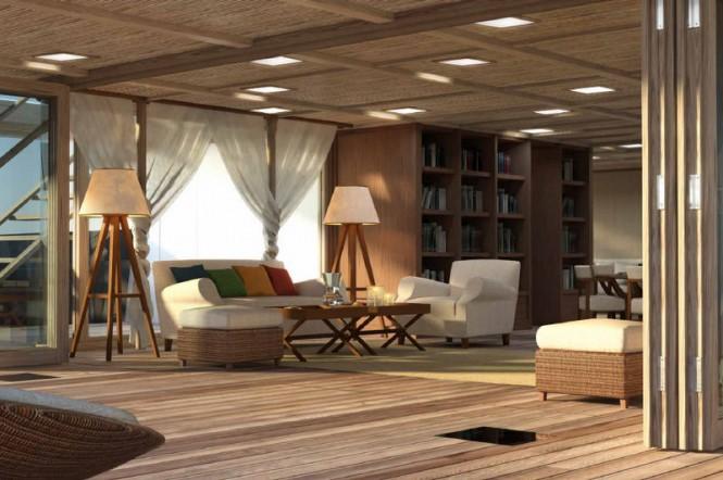 X-Ballet yacht concept - Interior