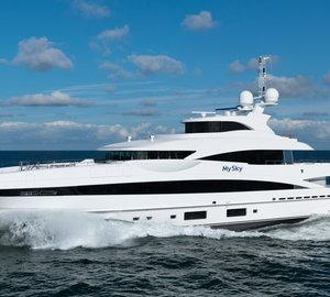 Heesen Yachts announces delivery of fully custom 51m motor yacht MySky (YN 16551)