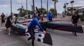 ben Ainslie Racing team training in Bermuda - Photo by Alex Palmer BAR