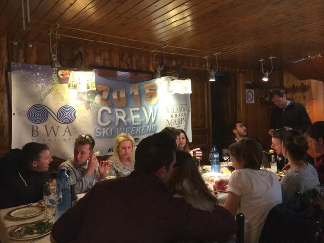 2015 Crew Ski Weekend organized by Villanova Grand Marina - Barcelona and BWA Yachting